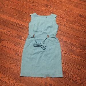 Ellen Tracy Aqua Dress